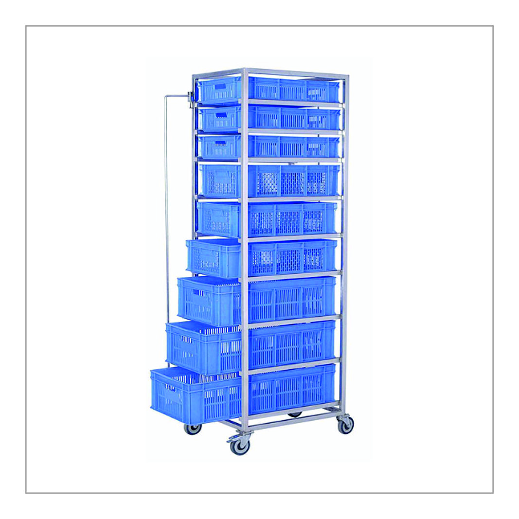 Vegetable Storage Trolley