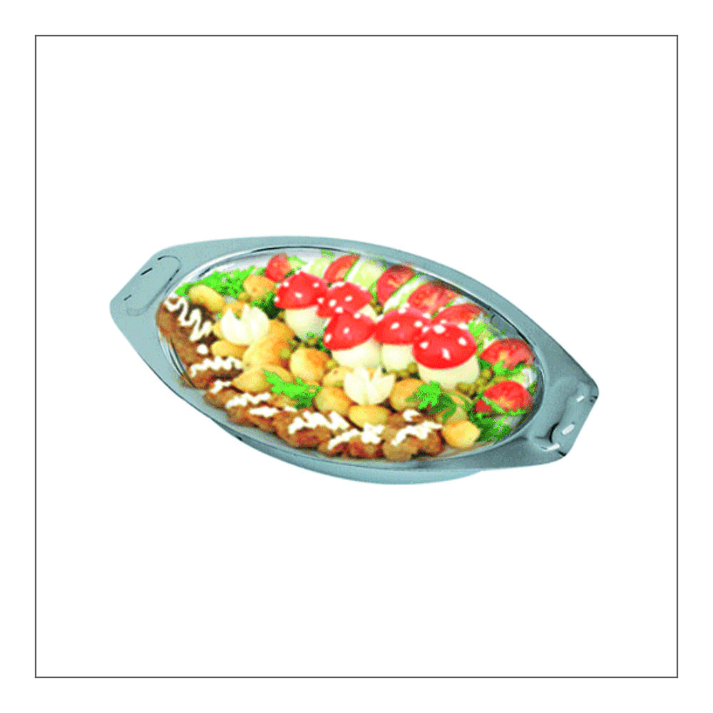 Curry Oval Tray