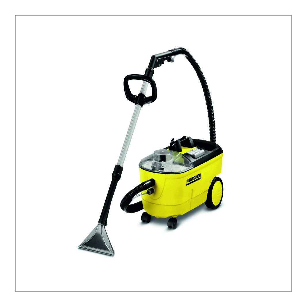 Carpet Cleaning Trolley