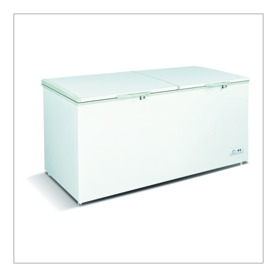 Top Double Door Freezer