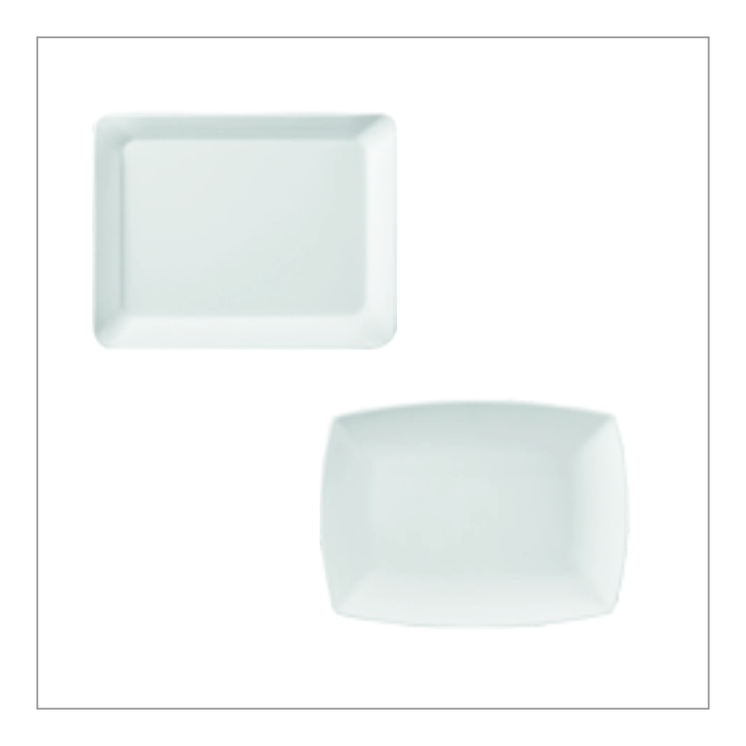 Melamine Rectangle Plates