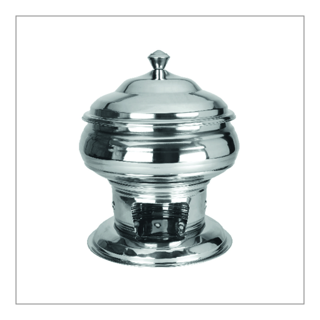 Round Chafing Dish with Lid